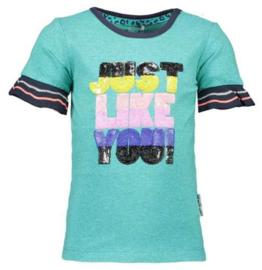 B.Nosy: T-shirt just like you - Groen