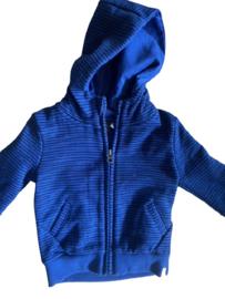 Babyface: Vest gestreept - Donkerblauw