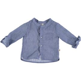 Petit Indi: Overhemd - jeansblauw