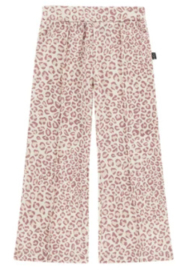House of Jamie: Flared pants - Orchid Leopard
