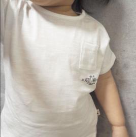 Petit Indi: T-shirt - ecru