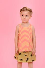 Little man happy: Bowie skirt