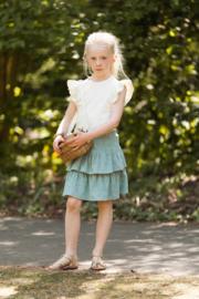 House of Jamie: Meisjes Ruffled Skirt - Jade