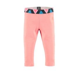 Babyface: Meisjes Legging - streep- sweet pink