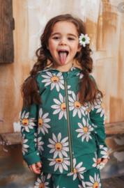 Dear Sophie: Green Daisy - Hoodie