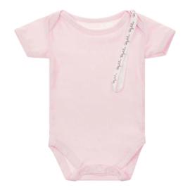 Baby de Luxe: romper korte mouw roze