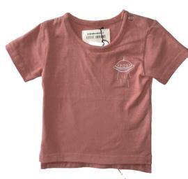 Little Indians: Shirt Spaceship pink