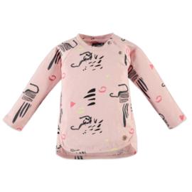 Babyface: Meisjes Longsleeve - Sunny Pink