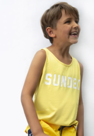 Sundek: tanktop yellow