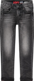 Vingino: jongens jeans Amos Dark Grey vintage