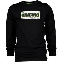 Vingino: Jongens longsleeve Jatup Deep Black