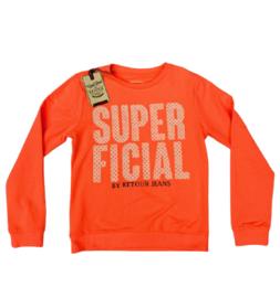 Retourjeans: sweater - Kylie - neon coral