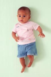 Babyface: T-shirt hello melon- pink blush