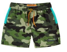 Vingino: Swimshort Xaviano Camouflage Green