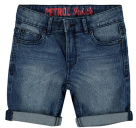 Petrol: Shorts - jeans - medium blue
