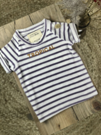 Little Indians: Shirt - Tropical - Lila Lines