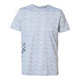 Petrol: T-shirt gestreept