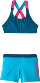Nike: Swim Crossback - blauw