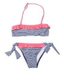 Sundek: Mini gardenia bikini/navy