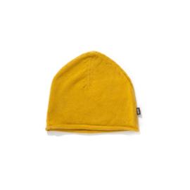 Imps&Elfs: Gebreide muts  oker geel