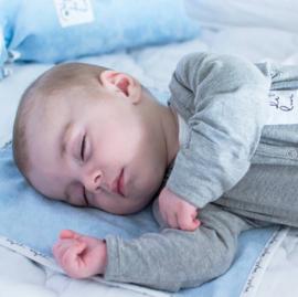 Baby deLuxe: Boxpakje katoen grijs