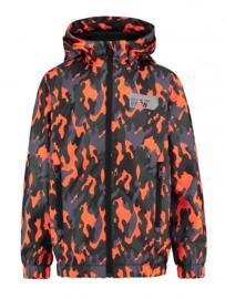 Vingino: jacket Tarmy - neon oranje