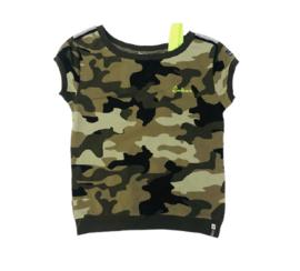 Retourjeans: t-shirt - Emily - khaki