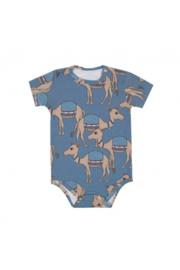 Dear Sophie: camel Bodysuit blue