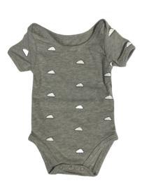 Baby de Luxe: Romper wolk grijs  - BDL