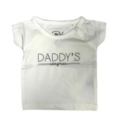 Baby de Luxe: Daddy's Wingman - white