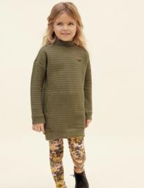 Tumble 'n Dry: Dress Moss Green Harmoni