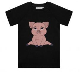 Dear Sophie: Piggie - dark rib t-shirt