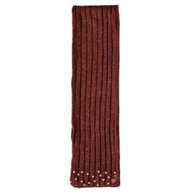 Le Chic: Sjaal parels  bruin - Girls