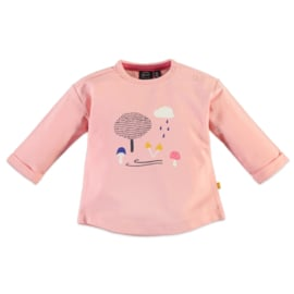 Babyface: Longsleeve outdoor Light coral