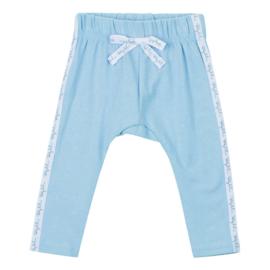 Baby deLuxe: Broekje met sierlint - blauw BDL05