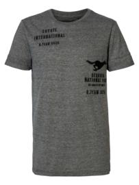 Petrol: T-shirt Coyote - Grijs