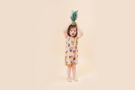 Little Man Happy: Banana Sky Pocket Dress