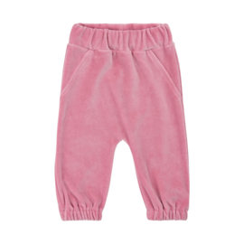 Pippi: Velours Pants - Pink