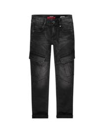 Vingino: Jongens jeans Apache Cargo - black
