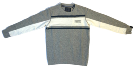 Petrol: Grey Sweater SWR359 streep