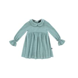 House of Jamie: Meisjes Collar Dress - Jade (Terry)