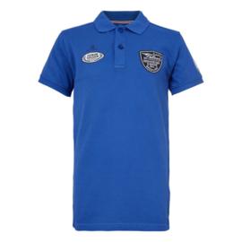 Petrol: Jongens Polo Logo - Donker Blauw