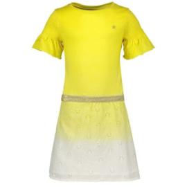 Like Flo: Yellow waist dress