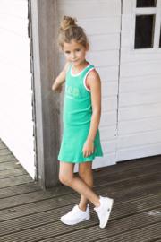 B.Nosy: Meisjes jurk groen - Beach