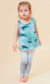 Little Man Happy: Miami Turtle Tanktop - blauw