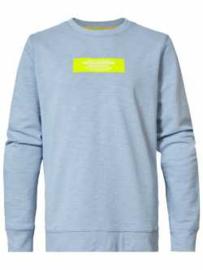Petrol: Sweater durable workwear - Licht blauw