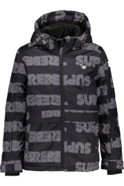 SuperRebel: winter jas met logo