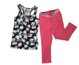 Vingino: (pyjama) Set Wieske - Neon pink