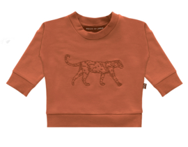 House of Jamie: Crewneck Sweater Rust Leo