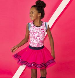 B.Nosy: Rokje Glitter Skirt - Pink
